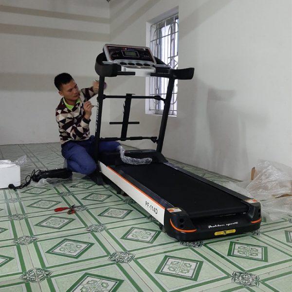 Lắp đặt máy chạy bộ Pro Fitness PF-114
