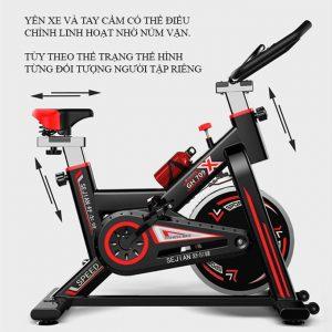 Chi tiết xe đạp tập GH-709